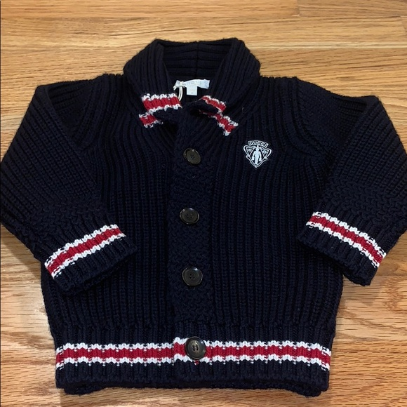 f3f3a335f9a Gucci Shirts & Tops | Baby Wool Cardigan Sweater New With Tags ...